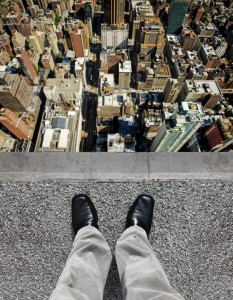 高層ビルからの視点
