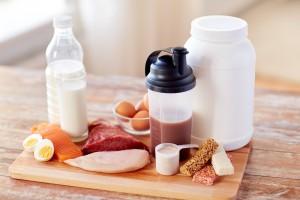 たんぱく質は食品から摂取