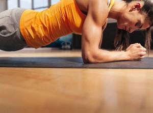 体幹トレーニング プランク