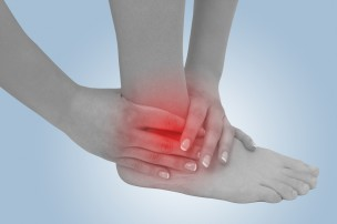 足首の痛み