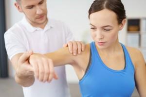 筋肉の稼働力チェック